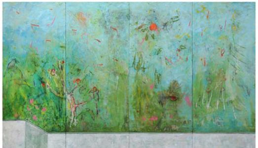 Fino al 31.V.2015   Harry Adams   The Impossible Garden and the Chaos of Super-Thinking   Galleria Alessandra Bonomo, Roma