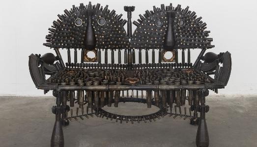 Fino al 30.VI.2019 | Gonçalo Mabunda. Il creatore del nascosto | Galleria Giovanni Bonelli, Pietrasanta