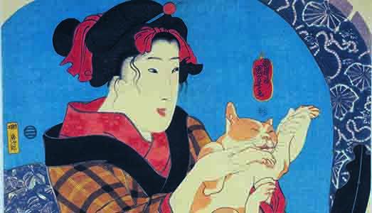 I gatti del Maestro dell'ukiyioe