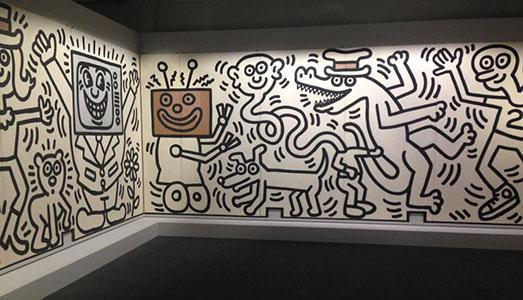 Keith Haring, il giovane radiante |
