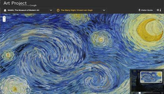 Google Art Project: ecco il più grande museo del mondo! E tra le novità del 2015 arriva il 3D