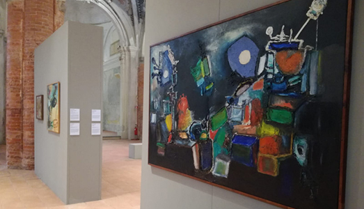 Fino al 20.I.2019  | Noi continuiamo l'evoluzione dell'arte | Arte Informale Dalle Collezioni Della Gam-Torino | Complesso Monumentale Di San Francesco, Cuneo