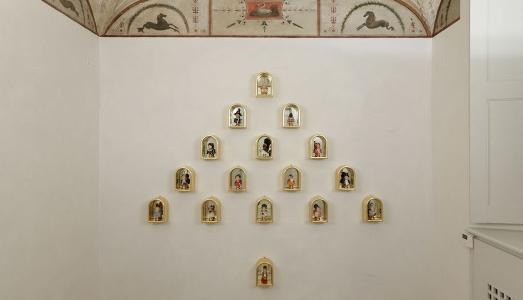 Fino al 16.III.2019 | Luigi Ontani: Albericus Belgioiosae Auroburos | Massimo de Carlo, Palazzo Belgioioso, Milano
