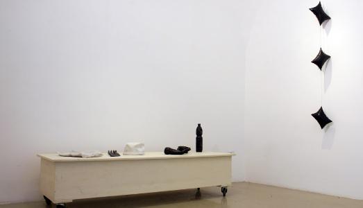 Fino al 22.XI.2014 | Felice Varini, Markus Wüste | Studio Trisorio, Napoli |