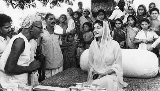 L'India in bianco e nero