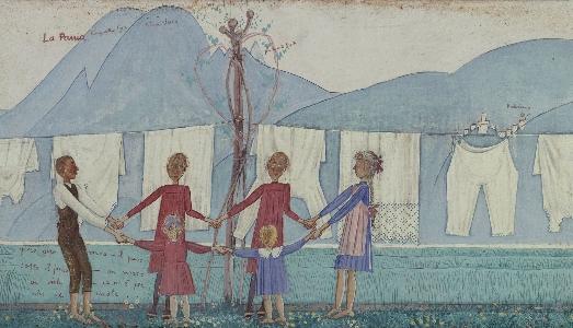 Fino al 2.VI.2019 | L'artista bambino. Infanzia e primitivismi nell'arte italiana del primo '900 | Fondazione Ragghianti, Lucca