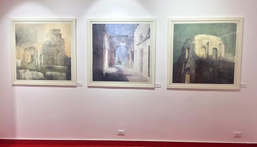 Fino al 31.V.2018   Pedro Cano, Roma Memoria Presente   Honos Art, Roma  