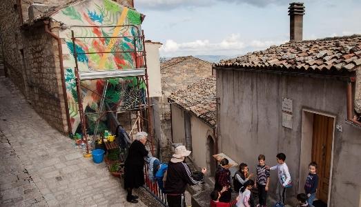La street art internazionale torna in Molise, per la quarta edizione di CVTA Street Fest