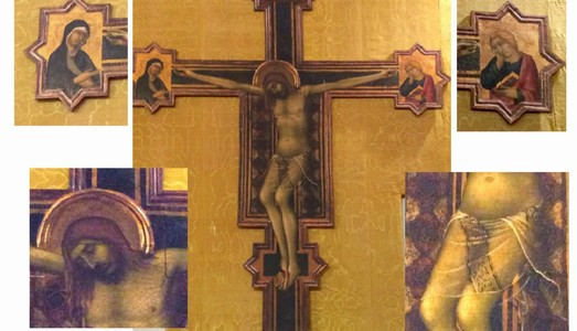 Conclusa l'opera di restauro del Crocifisso di Simone Martini