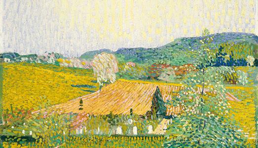 Fino al 28.I.2018 | Il paradiso di Cuno Amiet, da Gauguin a Hodler da Kirchner a Matisse | Museo d'arte di Mendrisio  |
