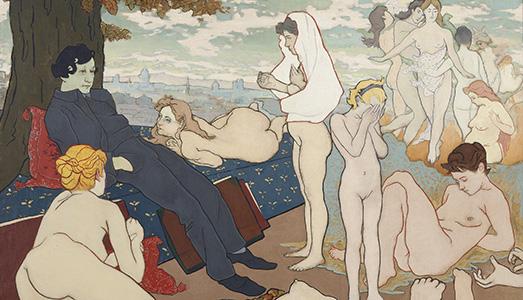 Fino al 7.I.2018   Simbolismo Mistico. Il Salon De La Rose+Croix A Parigi 1892-1897   Collezione Peggy Guggenheim, Venezia