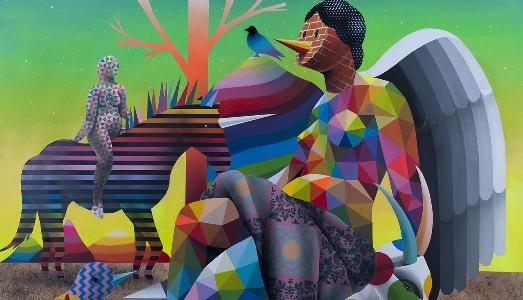 Street Art spagnola a MAGMA gallery, Bologna