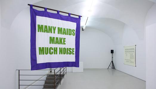 Fino al 13.II.2016   Olivia Plender, Many Maids Make Much Noise   ar/ge kunst Galerie Museum, Bolzano