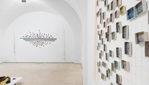 Fino al 15.II.2019 | Mohamed Larbi Rahhali e M'barek Bouhchichi, Variation within Repetition | Galleria Valentina Bonomo, Roma