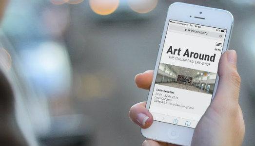 L'arte a portata di clic. Art Around è la piattaforma che racconta le gallerie italiane