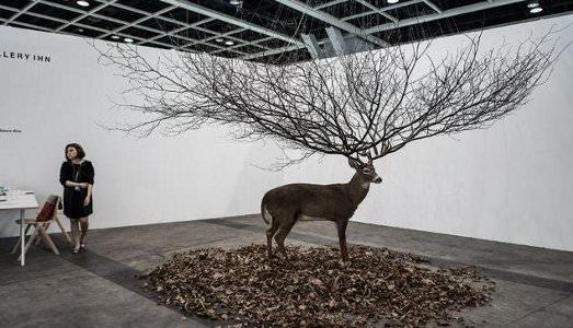 Accade ad Art Basel Hong Kong
