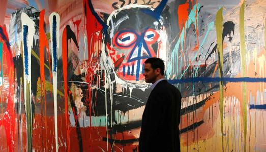Un Basquiat da record trascina Christie's