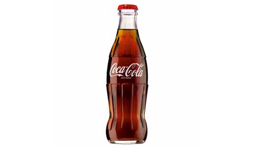 La bottiglia della Coca Cola