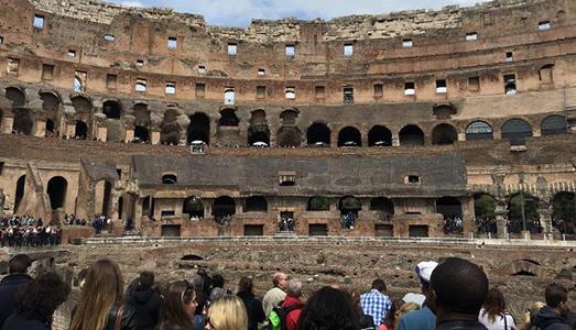 Colosseo, avanti tutta!  |