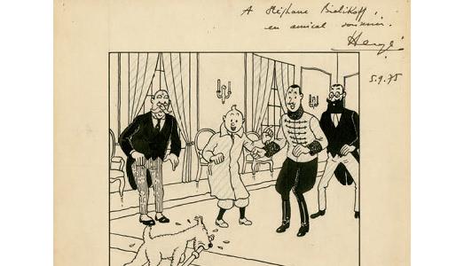 Hergé e Winnie the Pooh come Warhol