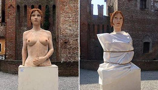 Le maestre e lo scandalo del seno nudo