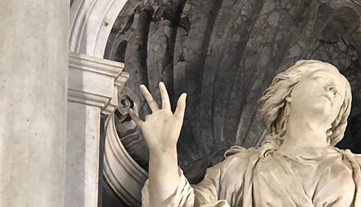 Bernini, la Santa e un dito mozzato