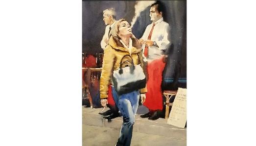 Fino al 28.IV.2019 | Neo-nomadi e Autoctoni, Opere di Andrey Esionov. L'umanità in movimento nello sguardo dell'aquarellista russo | Sala delle Esposizioni Accademia delle Arti del Disegno, Firenze
