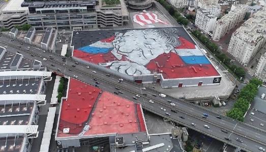 Il murale più grande d'Europa