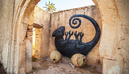 Street Art sull'isola delle vacanze. È Djerbahood