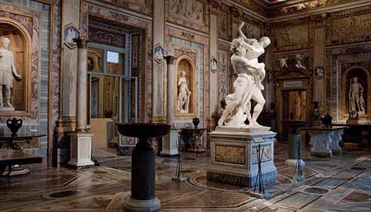 L'urlo dell'arte,  | dalla Galleria Borghese