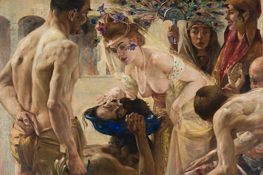 Lovis Corinth, Salome II (1899/1900)