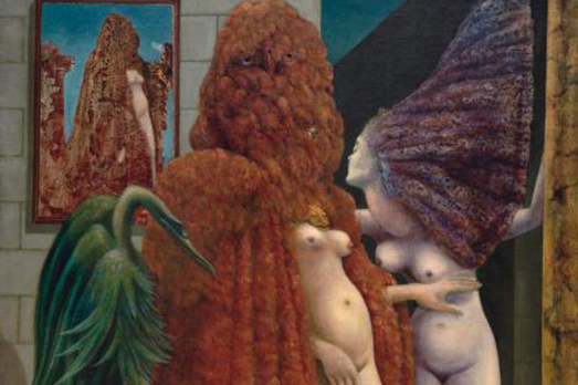 Max Ernst, Attirement of the Bride (1940)