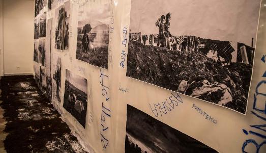 Fino al 30.VI.2016 | Bledar Hasko, Il buio alla luce del sole | Movimento Aperto, Napoli