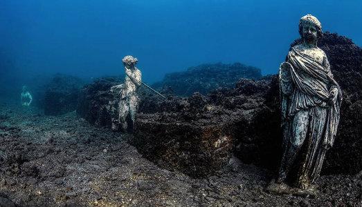 Una immersione virtuale tra i beni archeologici sommersi del Mediterraneo