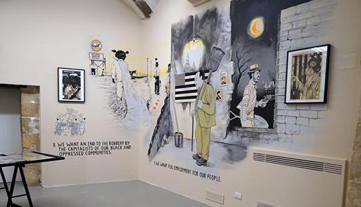 Fino al 15.XII.2017 | Emory Douglas, Freedom Is A Constant Struggle | Galleria Laveronica, Modica