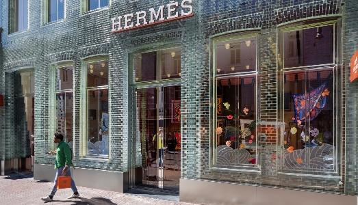 Un palazzo di cristallo per Hermes, ad Amsterdam