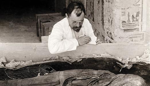 La scoperta del Faraone Amenofi II