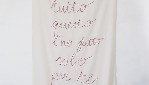 Fino al 14.XII.2017 | Vittoria Piscitelli, Tutto questo l'ho fatto solo per te | Mapils Gallery, Napoli