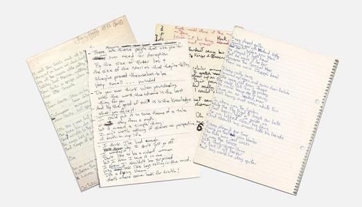 Le calligrafie di Cobain, Bowie e Leonard Cohen sono diventate dei font scaricabili online