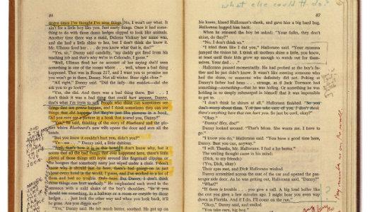 A margine di Shining. Online gli appunti di Stanley Kubrick sul libro di Stephen King