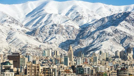 Dicembre a Teheran, con la residenza dell'IGAV