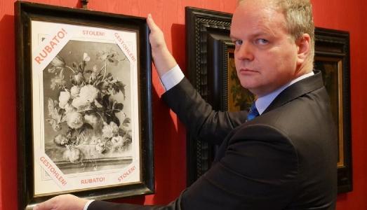 Il Vaso di Fiori rubato dai Nazisti torna agli Uffizi. Schmidt esulta: vittoria per l'Italia