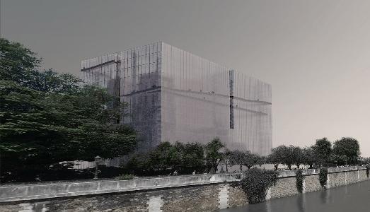 Un architetto e un artista vorrebbero stendere un velo sui lavori di restauro di Notre Dame