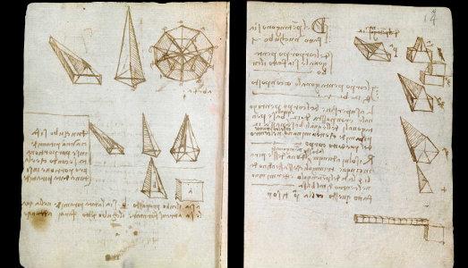 Il Victoria & Albert ha messo online i suoi taccuini di Leonardo Da Vinci