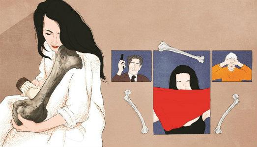 Vita di Marina Abramovic, illustrata su iPad. Ecco la nuova biografia