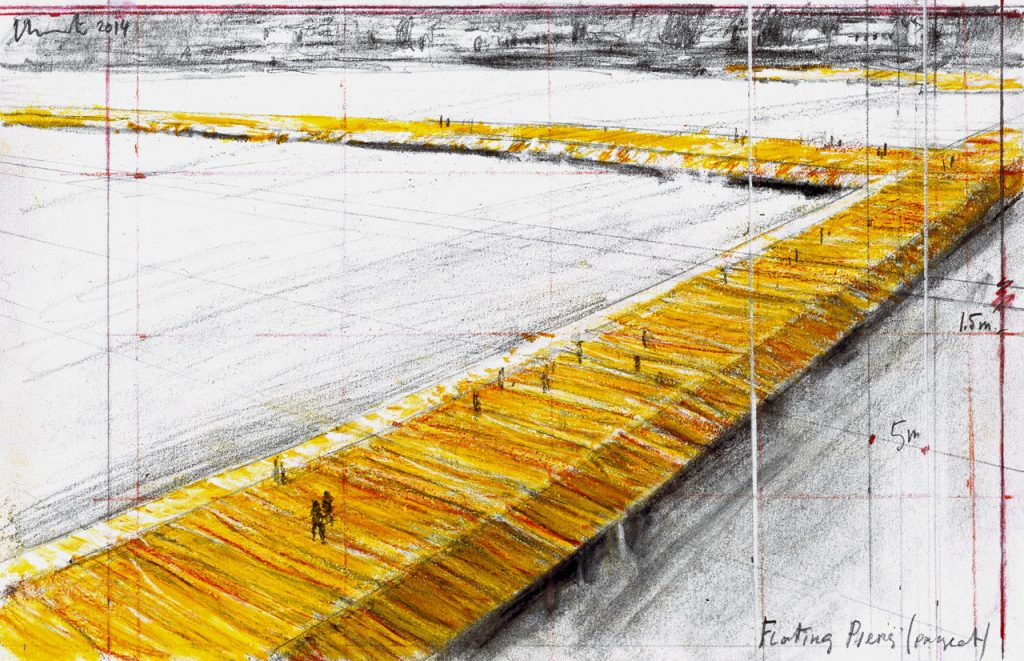 Disegno per The Floating Piers