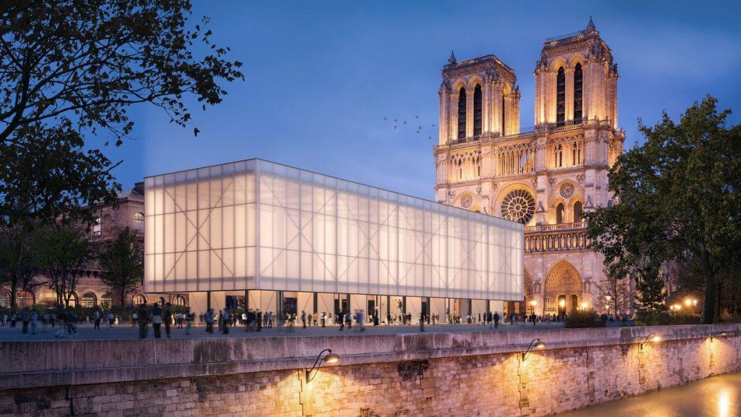 Il progetto del Pavillion Notre-Dame