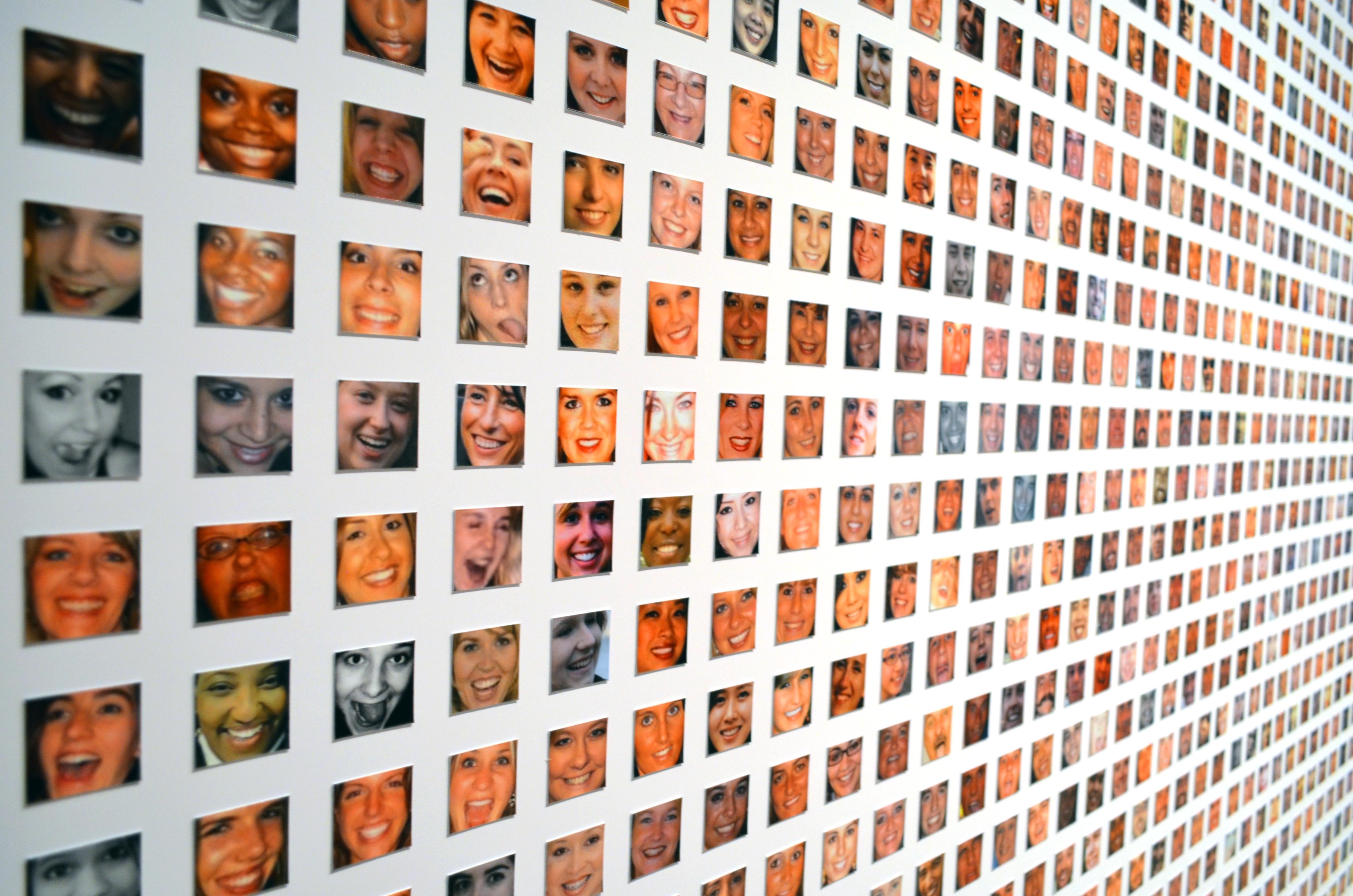 Paolo Cirio, Face To Facebook, 2011, (Courtesy of Galleria Giorgio Persano)