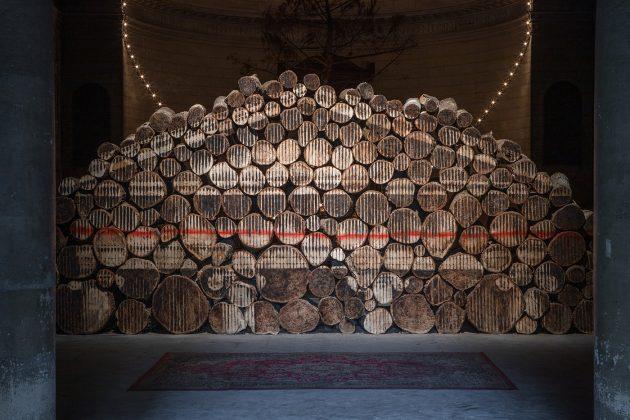 L'opera di Borondo a Bordeaux