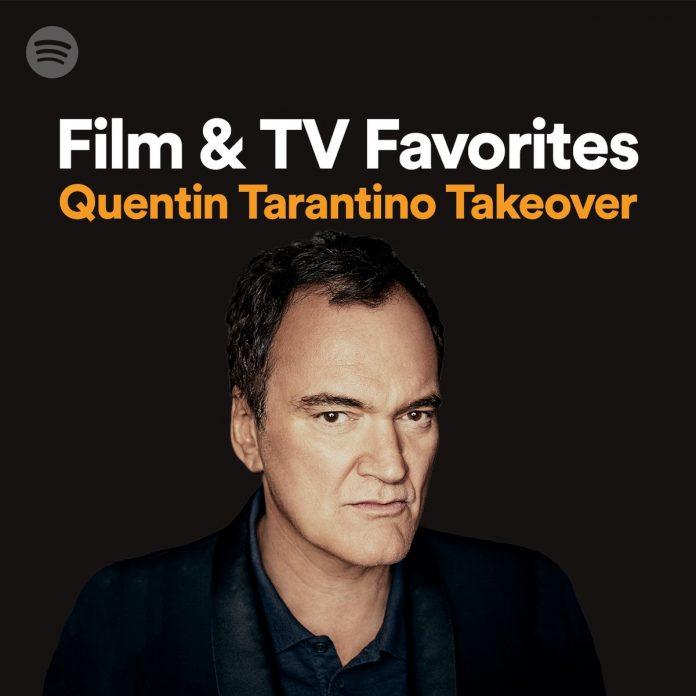 Quentin Tarantino su Spotify